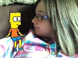 Me with...... Bart!!!!!! by CardiGirl28