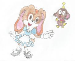 cream and cheese as Dorothy and Toto by Lazbro64