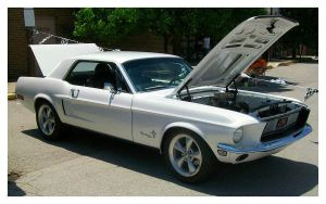 68 Mustang Coupe by TheMan268