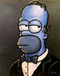Homer Blues by pregnantchaos