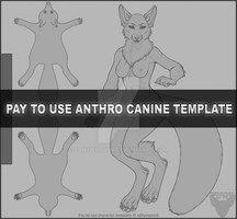 (P2U) Anthro Canine Female Base by sphynxpunk