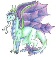 Faerie Dragon by lizzie9009