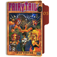 fairy Tail Tome 5 Folder by sostomate9