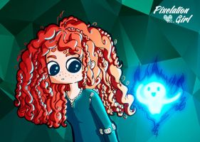Merida be brave! by PixelationGirl