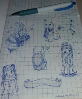 some drawings by XUranusX