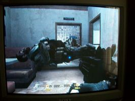The Floating Dead Guy-- CoD4 by AetheriumDreams