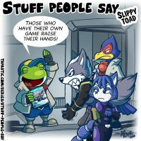 Stuff people say 185 by FlintofMother3
