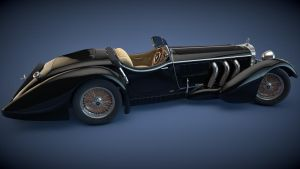 1930 Mercedes SS Roadster by SamCurry