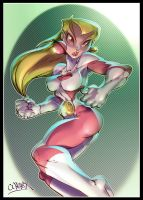 saturn girl by wagnerf