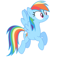 Rainbow Dash Vector - I'm Concerned About That... by Anxet