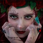 Forget me not by EstherPuche-Art