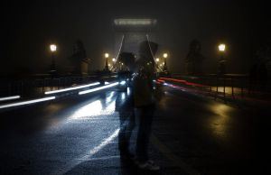 Chain Bridge - The Lonely Couple by FlawlessMonkey