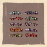 Race Cars. by larolaro
