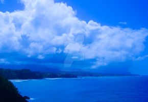 Blue Sea Blue Sky Blue Beaches by ertoolong