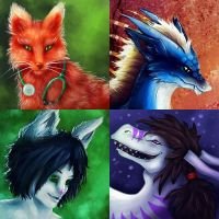 Icon commissions by Firrea