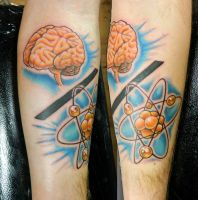 Brian's Mind Over Matter Tattoo by Sirius-Tattoo