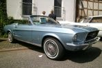 Blue Ford Mustang Cabriolet by Mayorati