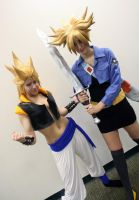 Gogeta and Trunks by KOCosplay