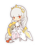 puzzle and dragons - Valkyrie by duoduoscat