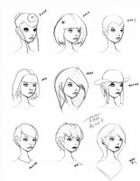 Hair Styles Vol 17 by ron-guyatt