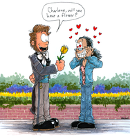Will you Have a Flower by hankinstein