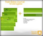 Field Below Journal .REQUEST. by bewarecalamity