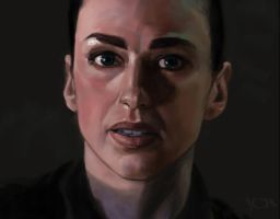 Aeryn Sun sketch 2 by tonyob