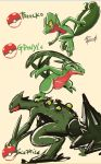 Treecko Family by Willian92