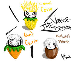 The Veggie Brigade by x-Aka-x