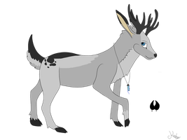 Winter-Deer .:Contest:. by Keshyx