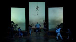 Oklahoma Storm Arriving Onstage by LocationCreator