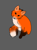 Just a Little Fox Sketch. by sealkisses
