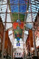 Colourful Glass Roof 03 by Fea-Fanuilos-Stock