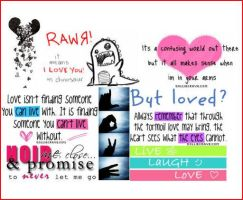 Love quotes by Miki-Aimi