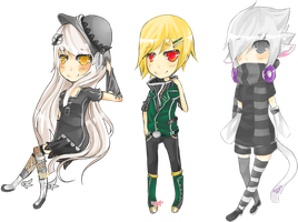 Chibis Galore by a-city