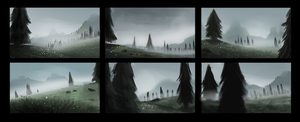 DAY 328. Sidhe - Thumbnails 4 by Cryptid-Creations