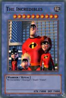 The Incredibles card by urkel8534