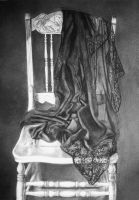 The Chair-That Dress- Charcoal by AstridBruning