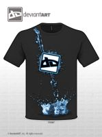 Water Splash Shirt by XResch