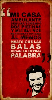 Poster Che by VJPatterson