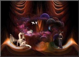 Inside The Dragons Lair by GypsyH