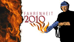Fahrenheit 2010 Title Graphic by graph-man