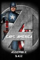 Avengers Standee: Capt America by Marvel-Freshman