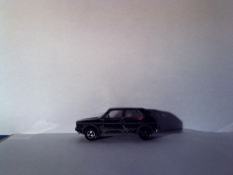 majorette VW golf 1 side by theoldhorse2