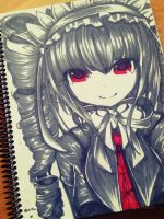 Celes sketchbook doodle by Asa-tan