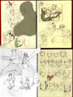 Sketch droppings by kasai