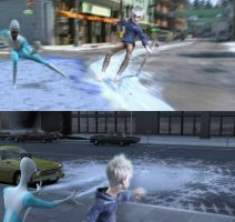 Jack Frost and Frozone! by jellybreaker
