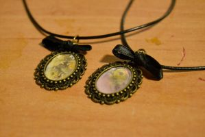 Smoky Workshop Necklaces by MissVulture93