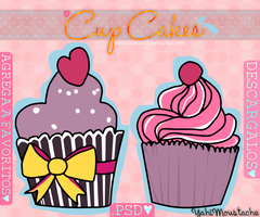 Cup Cakes *-* PSD by Yahi-m
