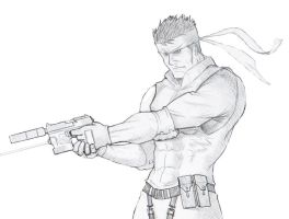 Solid Snake by solid-snake92